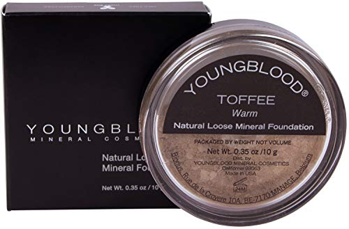 (Youngblood Natural Mineral Loose Foundation, Toffee)
