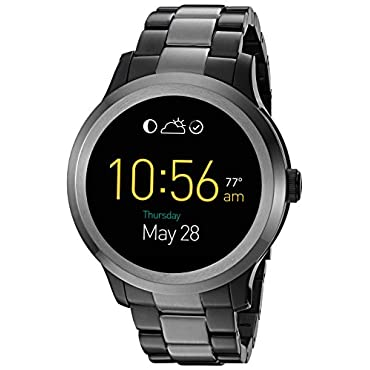 Fossil Q Founder 2.0 Touchscreen Two-Tone Gunmetal Stainless Steel Smartwatch
