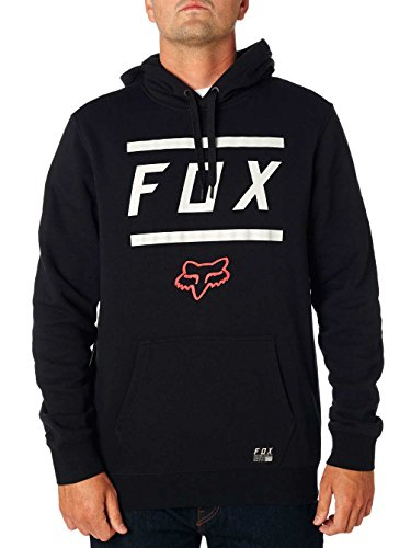 Fox Men's Listless Pullover Fleece, Black, XXL