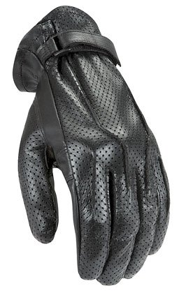 - Power Trip Jet Black Men's Motorcycle Riding Gloves (Black, Small)