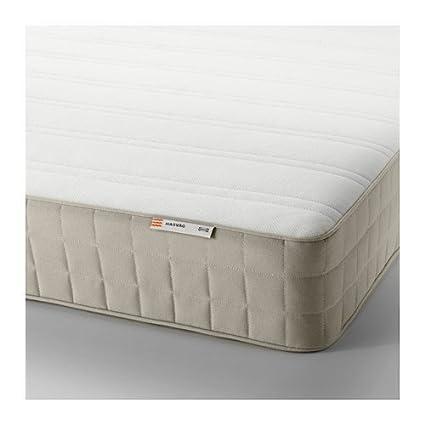 ikea hasvg spring mattress full size medium firm beige 162822314230 - Ikea Full Size Mattress