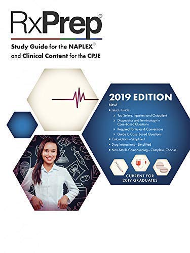 RxPrep's 2019 Course Book for pharmacist licensure