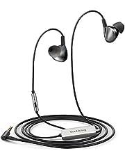 Sunliking Noise Cancelling Kopfhörer, 15 Stunden Spielzeit, In-Ear Kopfhörer mit Aktive Noise Cancelling(ANC), geräuschunterdrückende Kopfhörer mit Mikrofon