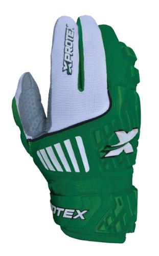 Xprotex大人Raykr 2014保護用バッティング手袋、グリーン、スモール B00GV4N2X6