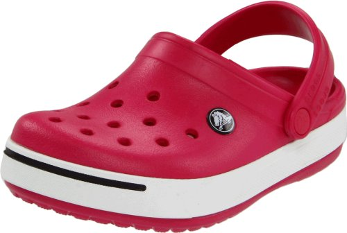 Crocs 11990 Clog ,Raspberry/Black,J1