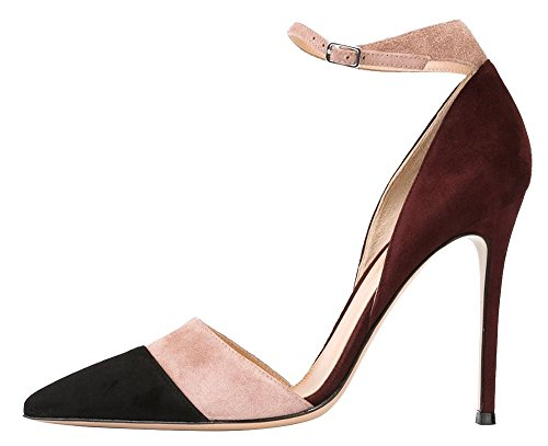 chocolate brown pumps - 8