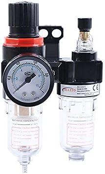 Filtro de aire para compresor lubricador con trampilla para la humedad 214172