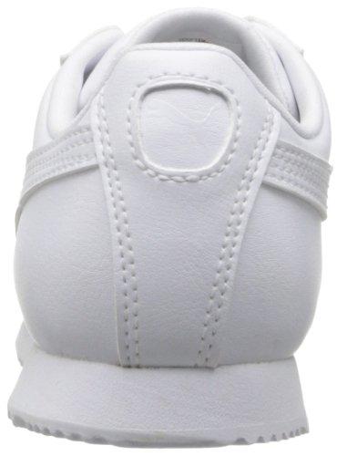 PUMA Roma Basic Kids Sneaker (Toddler/Little Kid/Big Kid), White/Light Gray, 2.5 M US Little Kid by PUMA (Image #2)