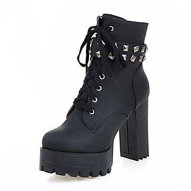 Heart&M Damen Schuhe Wildleder Herbst Winter Komfort Neuheit Modische Stiefel Stiefeletten Stiefel Blockabsatz Runde Zehe Booties Stiefeletten gray