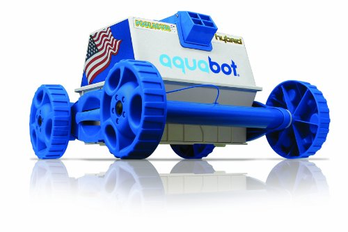 Aquabot Pool Rover Hybrid Robotic Pool Cleaner (The Pool Cleaner 2 Wheel)