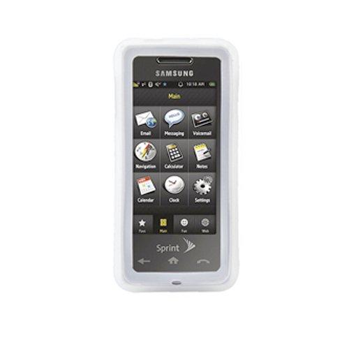 Silicone Cover - Samsung Instinct M800 - Clear M800 Cover Case