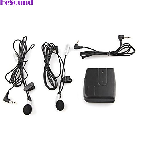 GooDGo Motorbike Headset, Motorcycle Helmet 2-way Intercom Headset Communication (2 Way Audio Intercom Interface)