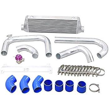 "3/"" Cold Air Intake Pipe Kit For 01-06 Civic Integra DC5 RSX K20 Long Tube Design"