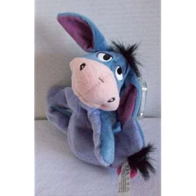 Disney Eeyore Plush Bean Bag by Star Bean with Removable Tail - 8 Inches: Toys & Games [5Bkhe0505103]