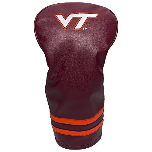 (Team Golf NCAA Virginia Tech Hokies Vintage Driver Golf Club Headcover, Form Fitting Design, Retro Design & Superb Embroidery)