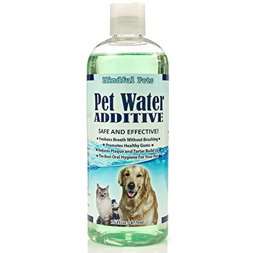 Pet water additive dental care freshen breath promote for Dog dental water additive