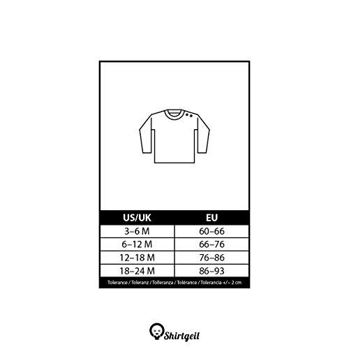 La Unisex Maglietta Per Shirtgeil Amo Manica Mamma Rosso Lunga Neonato Idea Madre Mia Dolce Regalo qfO5wfBW