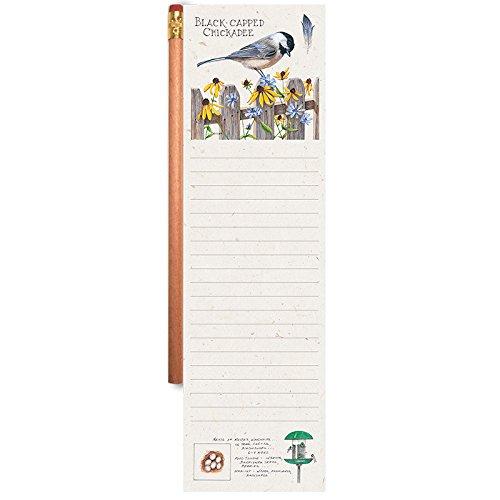 Wellspring Chickadee Magnetic Notepad