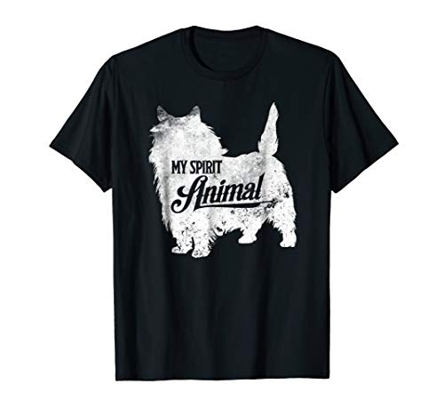 Cairn Terrier Spirit Animal T-Shirt Cute Dog Trainer Gifts