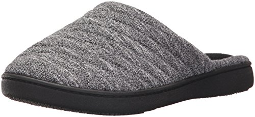 ISOTONER Womens Space Dyed Andrea Slip On Clog Slipper with Moisture Wicking for Indoor/Outdoor Comfort and Arch Support