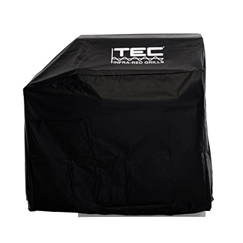 TEC Sterling II & Patio II Black Vinyl Grill, Base & Left Side Shelf Cover by TEC