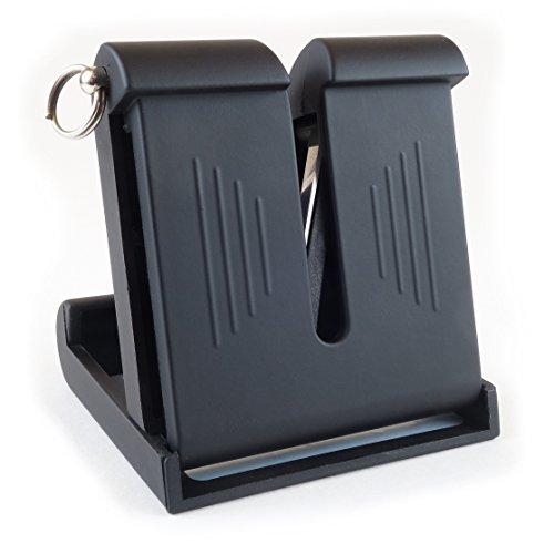 Brod & Taylor Pocket Knife Sharpener Dual-Action Austrian Tungsten Carbide