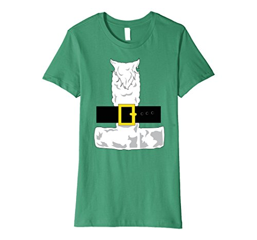 Womens SANTA CLAUS COSTUME Outfit Christmas Shirt | Xmas T-Shirt Small Kelly Green - Mr T Costume Ideas