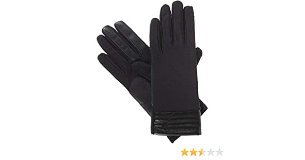 b8d093b45 Isotoner Women's Smartouch Spandex Glove with Metallic Hem Thermaflex Lining  at Amazon Women's Clothing store: