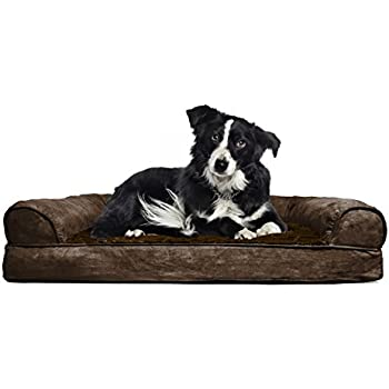 FurHaven Orthopedic Dog Couch/Sofa Bed For Dogs And Cats   Available In 17  Colors