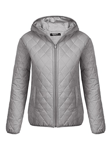 Quilted Hooded Zip Sweatshirt - 4