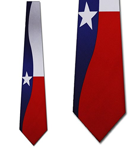 Texas Flag Neck Tie Necktie (Texas Neckties)