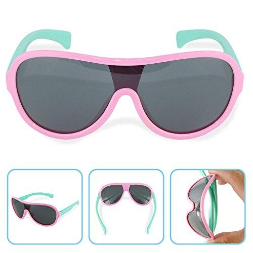 Boys Girls Kids Polarized UV Protection Sunglasses - Australia Fitover Sunglasses