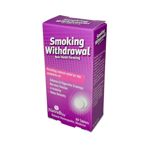 NATRA-BIO SMOKING WITHDRAWAL, 60 TAB