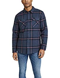 Men's Yield Plaid Button-Up Flannel