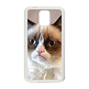 2015 Bestselling Angry cat Phone Case for Sumsung S5
