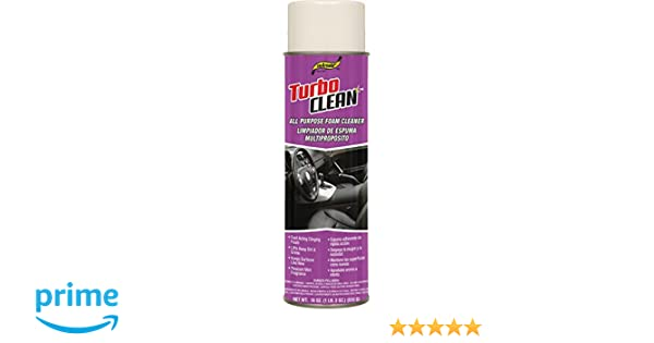 Amazon.com: SM Arnold (66-231) Turbo Clean All Purpose Foam Cleaner - 18 oz.: Automotive