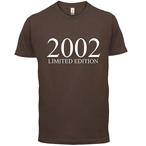 2002 Limierte Auflage / Limited Edition - 15. Geburtstag - Herren T-Shirt - Schokobraun - XS