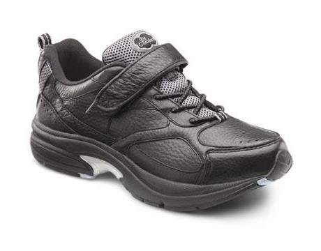 Dr. Comfort Spirit Women's Therapeutic Diabetic Extra Depth Shoe: Black 7 X-Wide (E-2E) Lace by Dr. Comfort (Image #1)