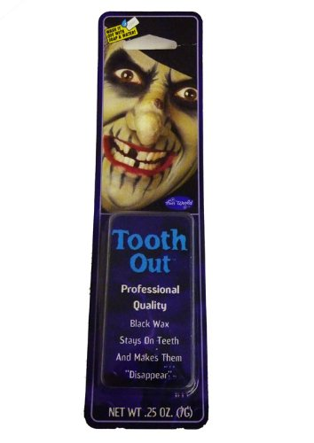 Home & Leisure Online Black Out Tooth Wax Vampire Fancy Dress (Blackout Halloween)