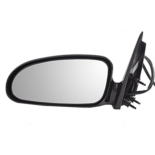 Pontiac Bonneville Side Mirror - Drivers Power Side View Mirror Ready-to-Paint Replacement for Pontiac 25736283