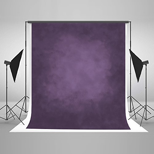Kate 6.5ft(W) x10ft(H) Abstract Photography Backdrop Portrait Photography Backdrops Purple Photography Background Props for Studio