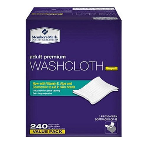 Adult Wipes (Member's Mark Adult Washcloths 240ct)
