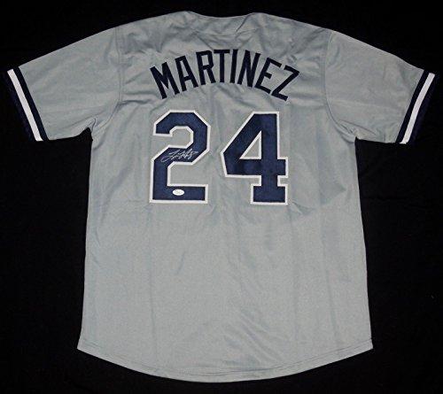 Tino Martinez Autographed Jersey (New York Yankees) - JSA -