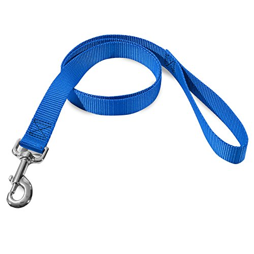 3/4in x 4ft Lead Dog Leash Blue By Majestic Pet - Lead Majestic Pet