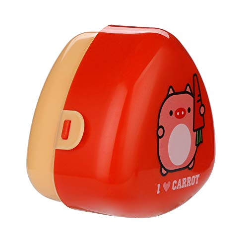 - Huangou Cartoon Shape Lunch Box for Girls with Mini Bento-Box. Cute School Lunch-Bag for Kids. Lunch-Boxes are Insulated. BPA Free (Small, Red)