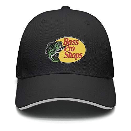 - Bass-Pro-Shops-Logo- Snapback Cap Vintage Cotton Unconstructed