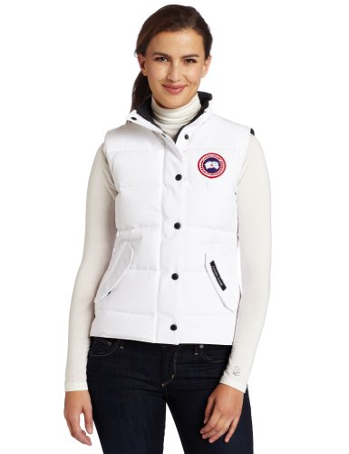 Canada Goose Women's Freestyle Vest,White,X-Large