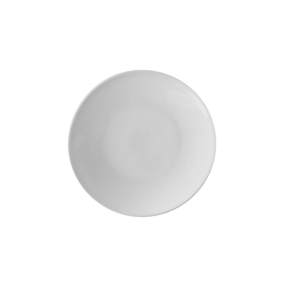10 Strawberry Street Classic Coupe 6.5'' Bread & Butter Plate, Set of 6, White