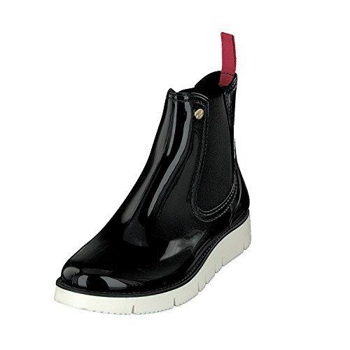 Gosch Scarpe Donna Scarpe Chelsea Boots Stivaletti 7105-320 In 6 Colori Nero / Bianco
