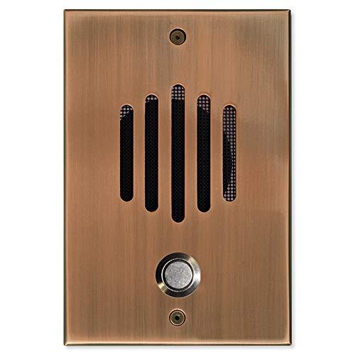 Panasonic KSU-Compatible Large Solid Brass Door Stations